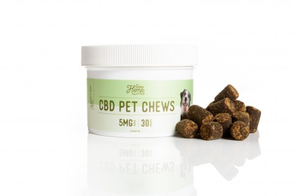 Pet Chews (30ct) – 5mg CBD/Treat