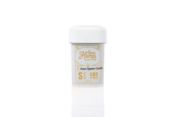 Sour Space Candy 13% Sativa Hemp Flower 7g Quarter/Oz From The Georgia Hemp Company