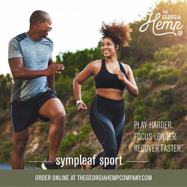 Sympleaf Sport 800mg CBD Cool Stick