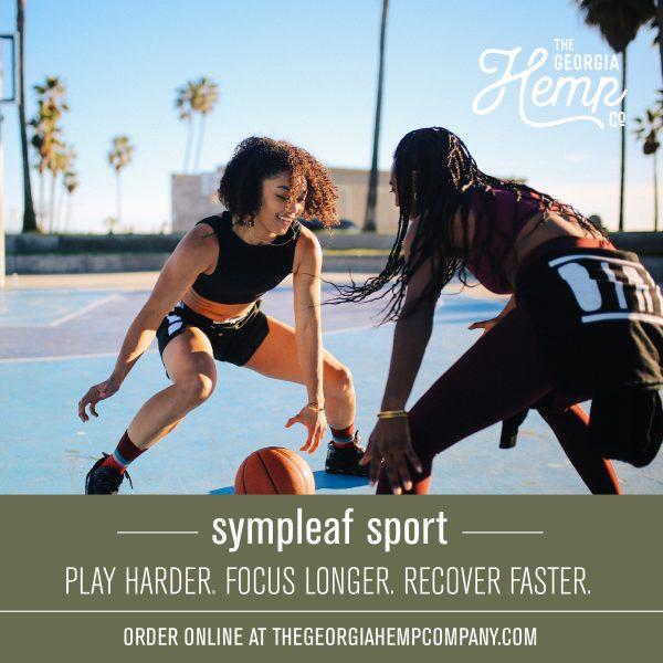 Sympleaf Sport 10mg CBD Spearmint Gum (20 pcs)