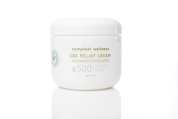 Sympleaf Wellness Hemp Extract Relief Cream – 500mg CBD