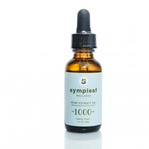 Sympleaf Wellness Hemp Extract Oil – 1000mg CBD