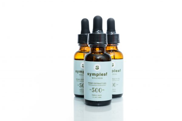 Sympleaf Wellness Hemp Extract Oil – 500mg CBD