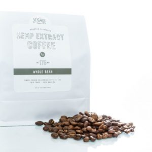 12 Oz. Ground Coffee + Hemp Extract – 175mg CBD