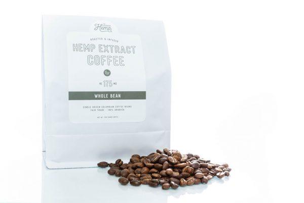 12 Oz. Ground Coffee + Hemp Extract – 175mg CBD