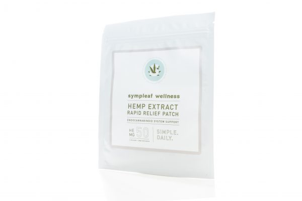 Sympleaf Wellness 25mg CBD Relief Patch (2 ct)