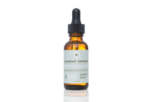 Sympleaf Wellness CBD Full Spectrum Oil – 500mg CBD THC < .3%
