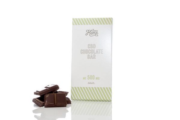 Hemp Extract Dark Chocolate Bar 500mg CBD