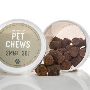 Pet Chews (30ct) – 2mg CBD/Treat