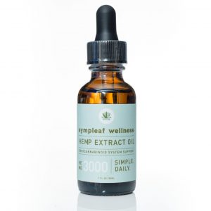 Sympleaf Wellness CBD Full Spectrum Oil – 3000mg CBD THC < .3%