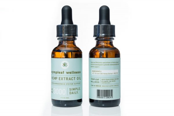 3000mg CBD Isolate Oil from Sympleaf Wellness