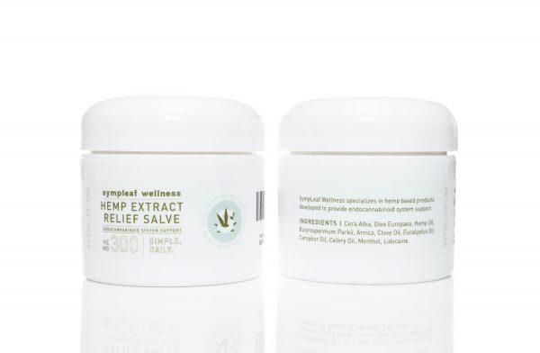 Sympleaf Wellness 300mg CBD Relief Salve