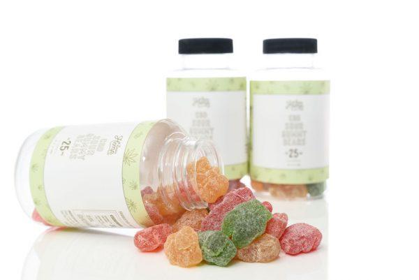 25mg CBD Sour Gummy Bears (30 ct)