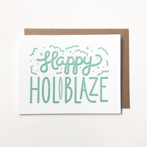 Happy Holiblaze 5.5″x4.5″