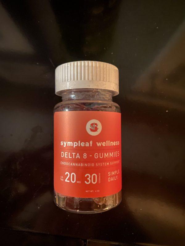 Delta-8 Gummies 20mg (30ct) by Sympleaf Wellness
