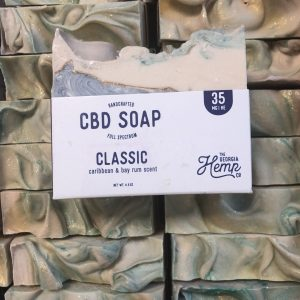 Bay Rum, THE Classic Men's Scent 35mg CBD Hemp Soap
