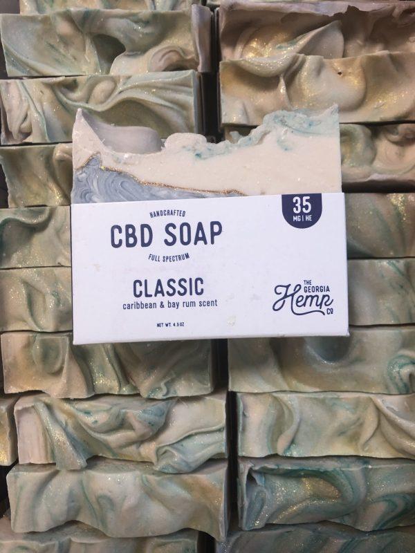 Bay Rum, THE Classic Men's Scent 35mg CBD Hemp Soap