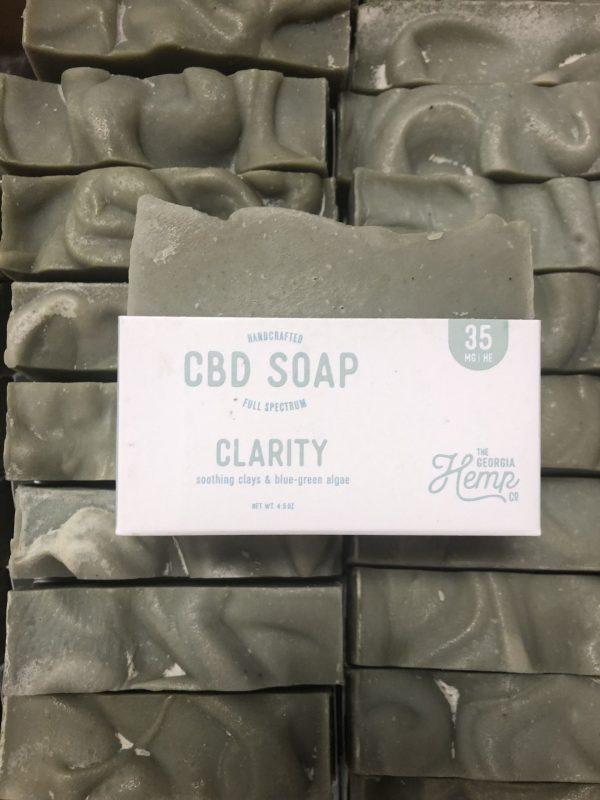 Clarity Facial 35mg CBD Hemp Soap