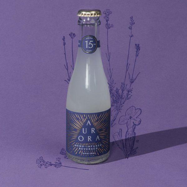 Aurora Infused Beverage LAVENDER SPICE 25mg CBD