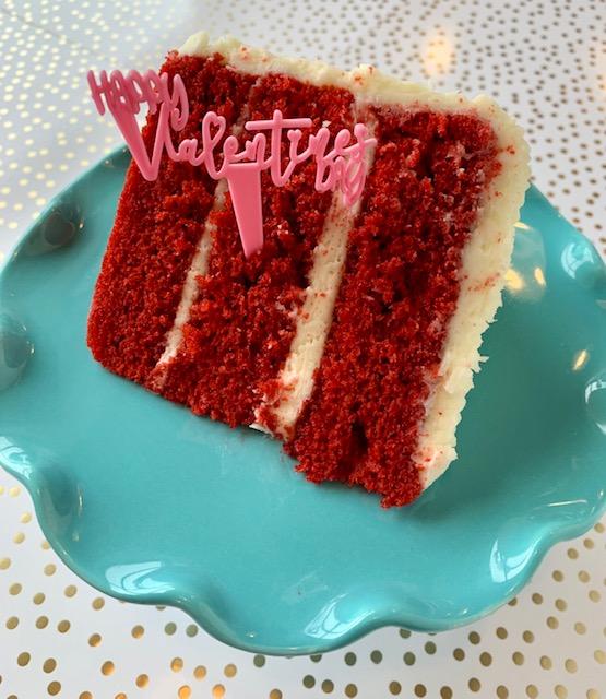 Red Velvet CBD Cake Slice 50mg
