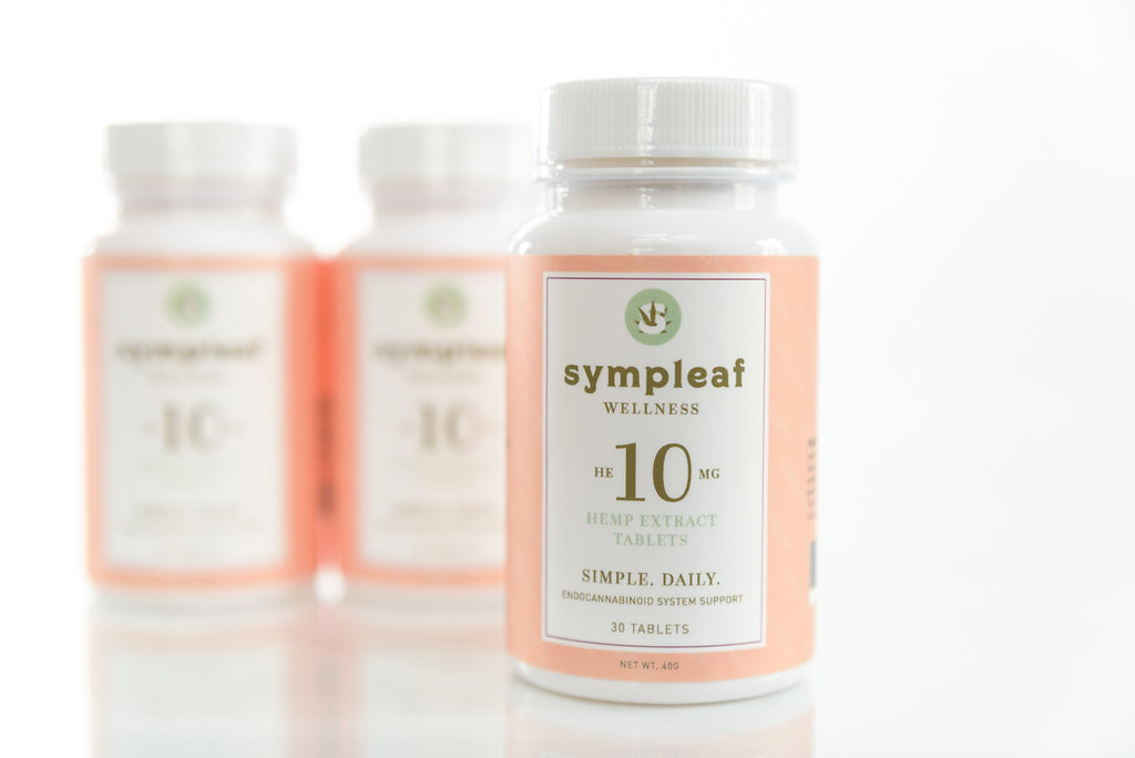 Sympleaf Wellness 10 mg CBD Tablets (30 ct)
