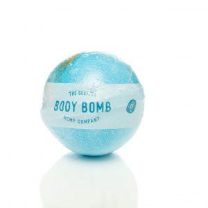 Body – Hemp Extract Bath Bomb (EUCALYPTUS & PEPPERMINT) – 35mg CBD