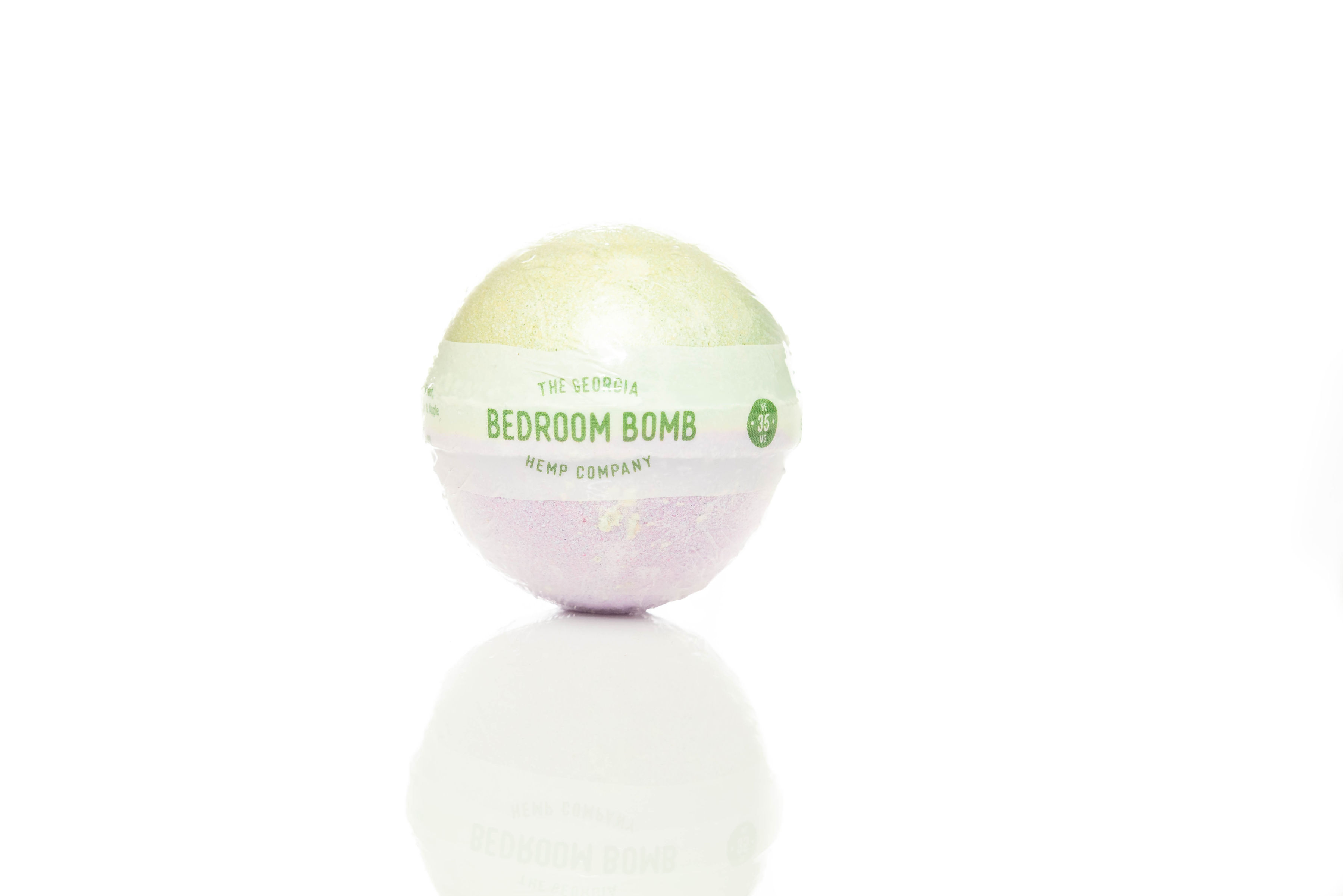 Bedroom – Hemp Extract Bath Bomb (FRESH BAMBOO) – 35mg CBD