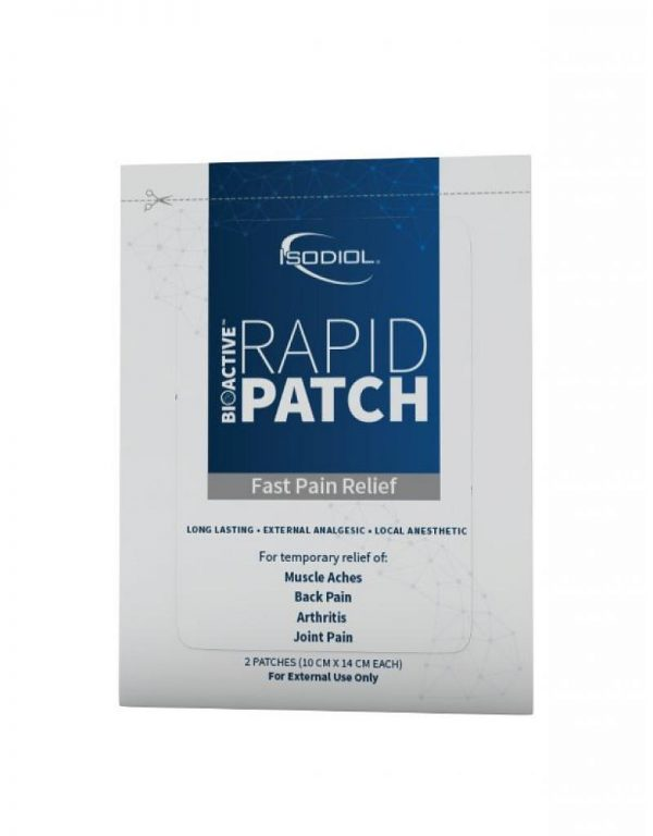 Isodiol Hemp Extract Bioactive Rapid Patch™ (2 ct)