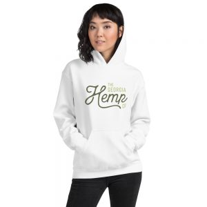 The Georgia Hemp Company Logo Unisex Hoodie