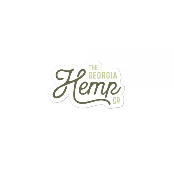 The Georgia Hemp Company Logo Sticker