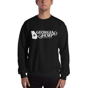 The Georgia Hemp Company Logo Alternative Unisex Sweatshirt