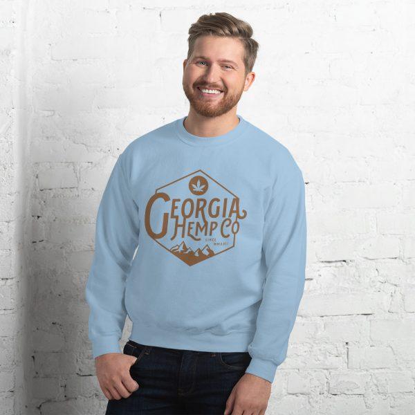 The Georgia Hemp Company Mtn Logo Unisex Sweatshirt