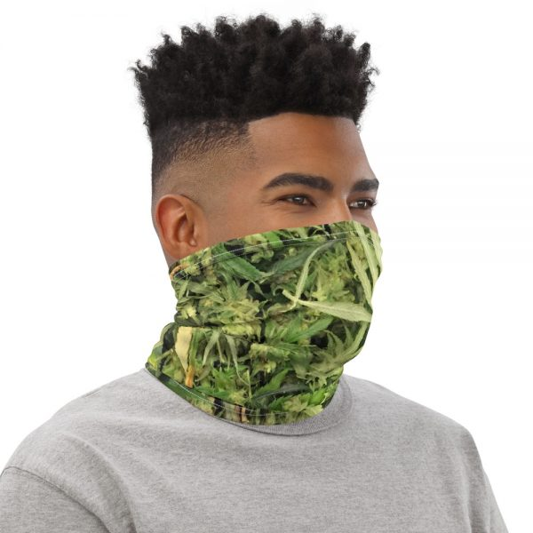 Hemp Flower Trim Bag Face & Neck Gaiter