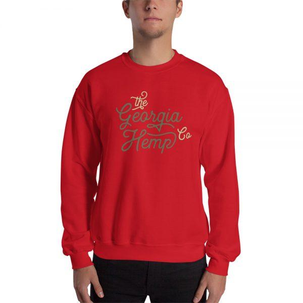 The Georgia Hemp Company Cursive Logo Unisex Sweatshirt