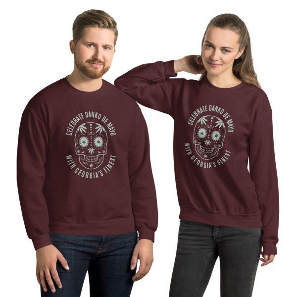 Cinco De Danko Day of The Dead Unisex Sweatshirt