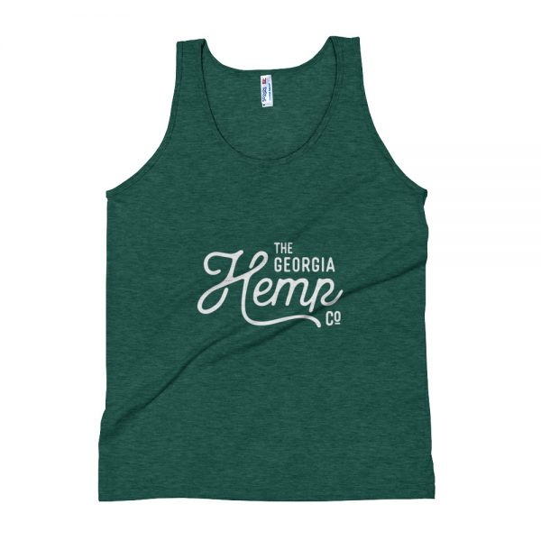The Georgia Hemp Company Logo Tank – Unisex Soft Tri-Blend Tank