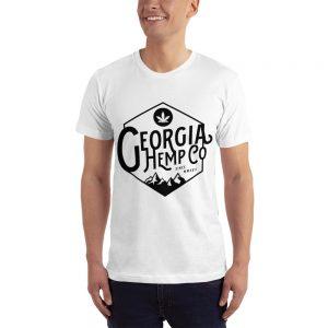 The Georgia Hemp Company Mountain logo T