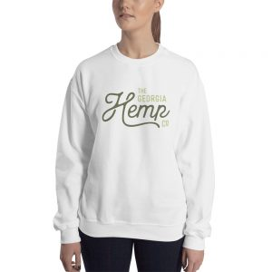 The Georgia Hemp Company Logo Unisex Sweatshirt