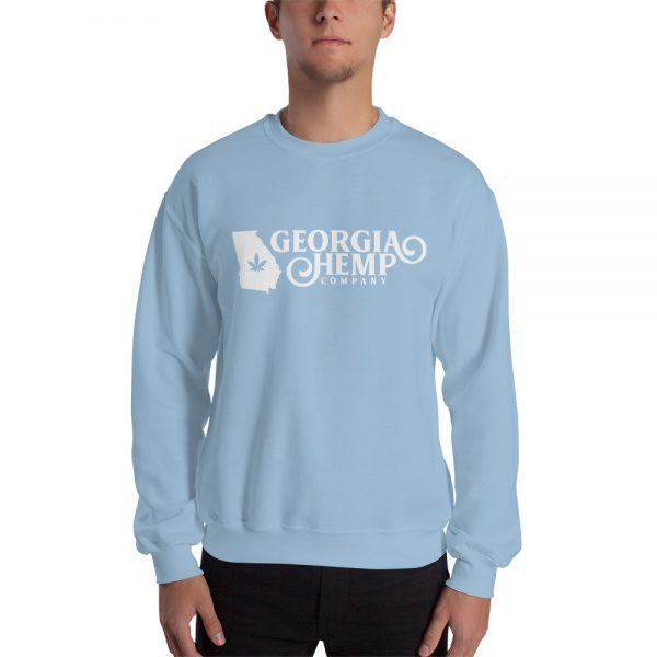 The Georgia Hemp Company Logo Alternative Unisex Sweatshirt