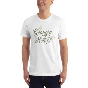 The Georgia Hemp Company Cursive Logo T.