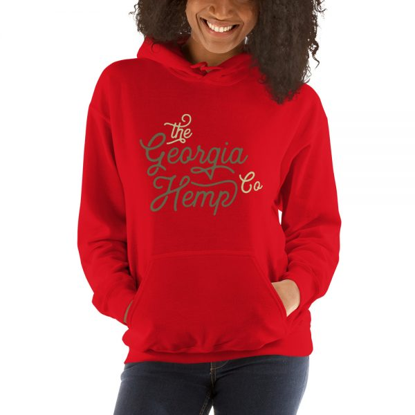 The Georgia Hemp Company Cursive Logo Unisex Hoodie