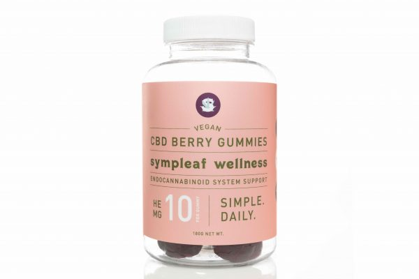 Vegan Berry Gummies 10mg CBD (30 ct) by Sympleaf Wellness