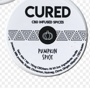 Cured Hemp Extract Spices (Pumpkin) – 2 oz (100mg CBD)
