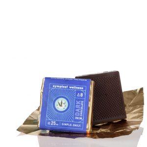25mg Delta 8 THC Dark Chocolate Mini