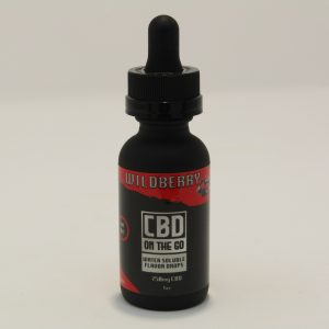 CBD Water Soluble Flavor Drops (Wildberry ) 750mg