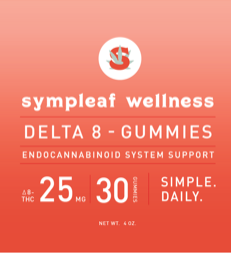 Delta 8 Gummies 25mg (30ct) from Sympleaf Wellness