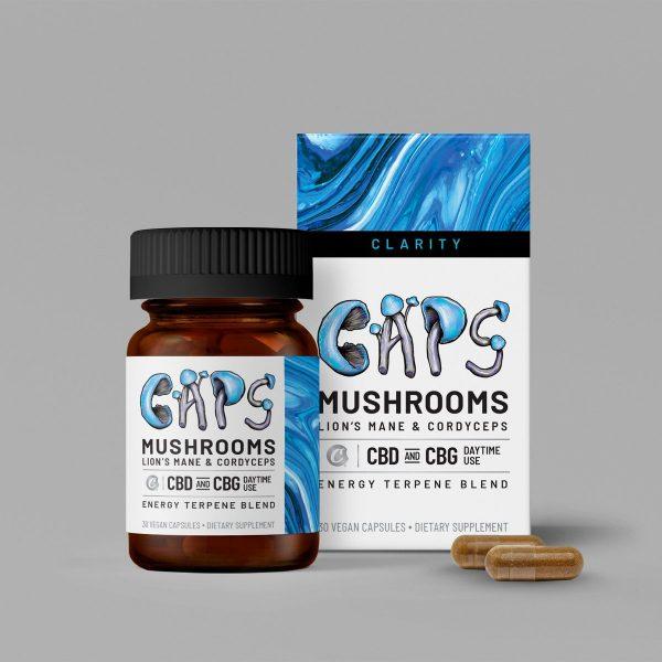 25mg Daytime Mushroom + CBG Capsules