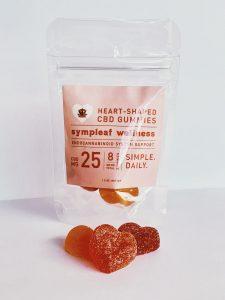 Heart shaped cbd gummies