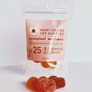 Heart shaped cbd gummies