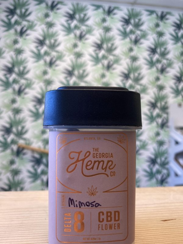 Mimosa – 13% CBD • 10% Delta 8 Hemp Flower – 1 Quarter / 7g
